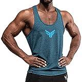 Fitness Method® Tank Top Herren - Extra Funktionelle Sport Bekleidung - verringert erheblich die...
