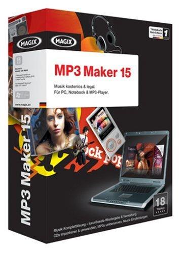 MAGIX MP3 Maker 15 (Minibox)