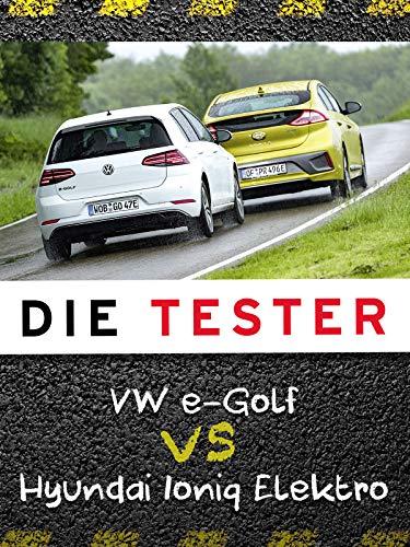 Die Tester: VW e-Golf vs Hyundai Ioniq Elektro
