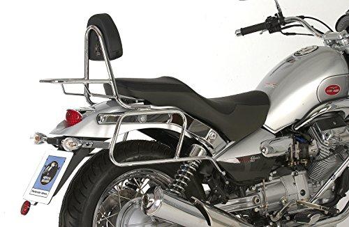 HEPCO&BECKER - Soporte Cromado De Maletas Laterales Para Moto Guzzi Nevada Classic V 750 Desde 2004
