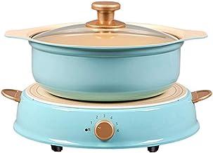 JSMY Cuisinière à Induction Hot Pot Ménage Multifonction Céramique Antiadhésive Chauffage Électrique Wok Cuisinière Électr...