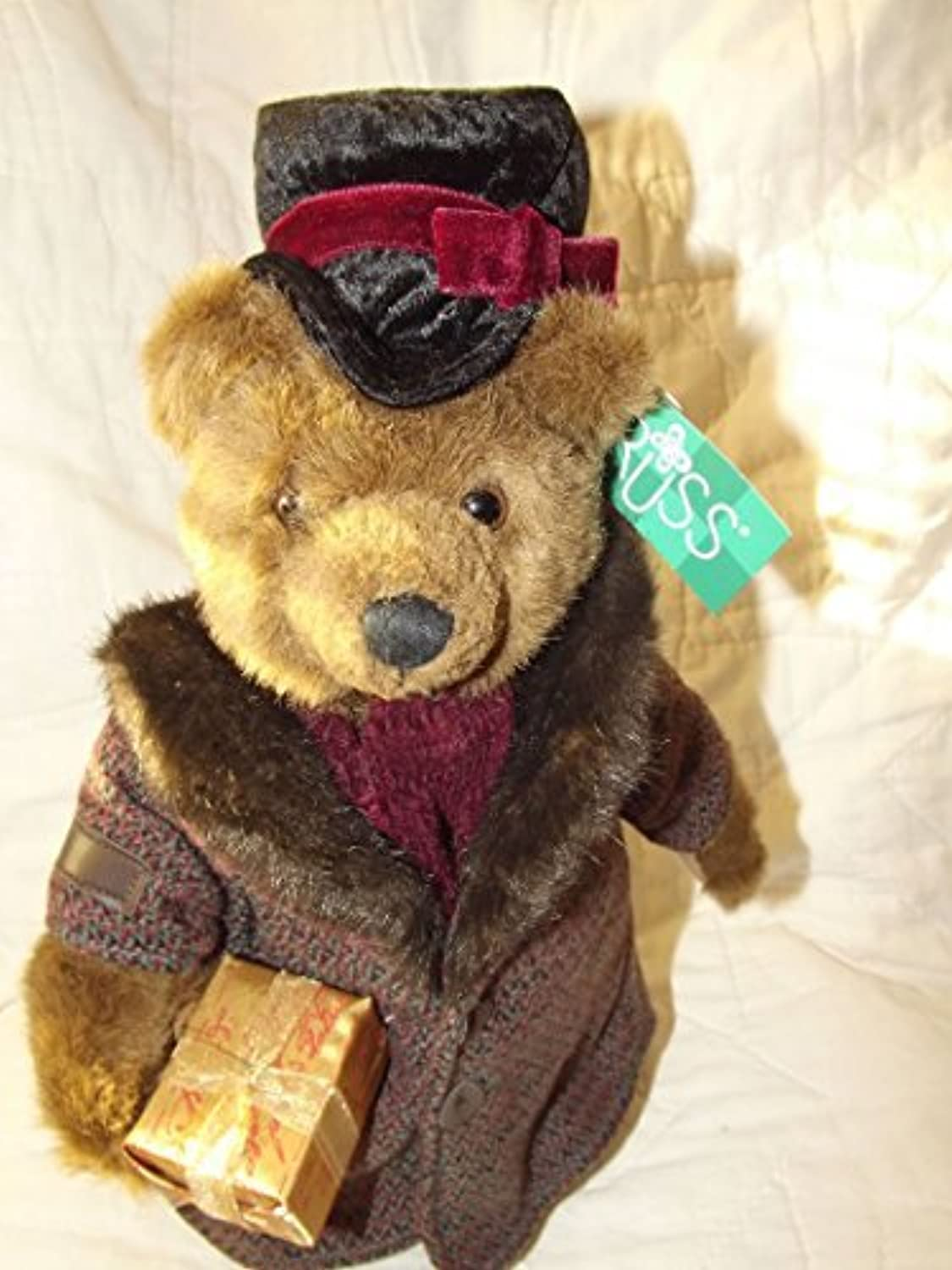 Vintage Russ Berrie Collectible Plush Bear Oliver Retirot by Bears from the Past