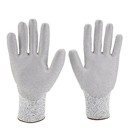 1 paar snijbestendige handschoenen voor veiligheid, ideale keukenhandschoenen HPPE snijbestendige handschoen veiligheid werk slager bescherming gereedschap L