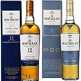 Macallan - Whisky Escocés Double Cask, 12 años, 0.7 L + Macallan - Whisky Escocés Amber, 40º, 0.7 L