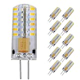 Pocketman Paquete de 10 3 Watt AC/DC 12V G4 Bombillas LED...