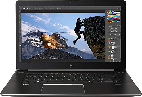 HP ZBook Estudio G4 de 15 Pulgadas portátil - (Negro) (procesador Intel i7-7700HQ, 8 GB de RAM, 256 GB SDD, Quadro M1200 Gráficos, Windows 10 Pro)