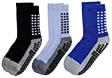 RATIVE Anti Slip Non Skid Slipper Hospital Socks with grips for Adults...