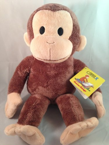 NWT 2013 PLUSH Kohls Cares Curious George MONKEY Animal Stuffed Adorable NEW 14'