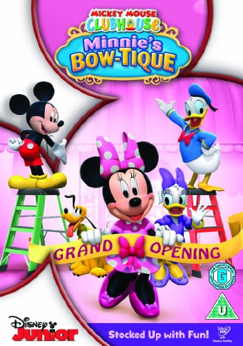 Mickey Mouse Clubhouse - Minnies Bow [Reino Unido] [DVD]