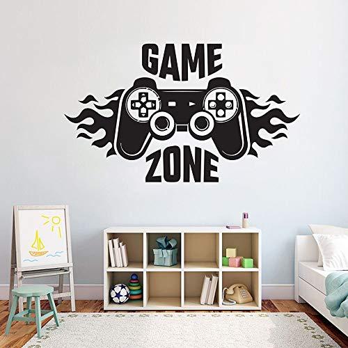 Jugador del juego pegatinas de pared creativas comer dormir juego pegatinas de pared decoración de interiores para niños dormitorio vinilo pared arte calcomanías