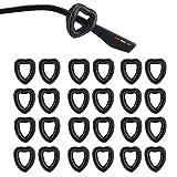 SMARTTOP 12Pairs LOVE Glasses Ear Grip,Eyeglass anti-slip ear holder-silicone soft glasses ear retainer hooks for Spectacle Sunglass Reading-glasses temple tips sleeve for women men (BLACK)