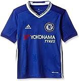 adidas Jungen Fußball/Heim-Trikot FC Replica, Chelsea Blue/White, 152