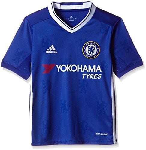 adidas H JSY Y Camiseta 1ª Equipación Chelsea FC 2015/16, Niños, Azul/Blanco, 11-12 años