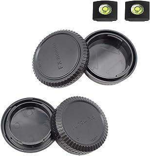 Fuji X Front Body Cap & Rear Lens Cap Cover kit for Fujifilm X-T4 X-T3 X-T1 X-T2 X-T30 X-T20 X-T10 X-H1 X-T200 X-T100 X-PR...