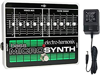 Electro-Harmonix Bass Micro Synth Pedal With Power Supply