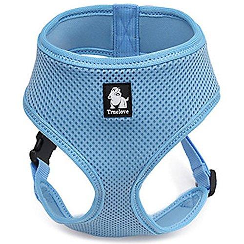 Treat Me Gepolstertes Hundegeschirr Air Mesh Verstellbar Sicher Kontrolle Welpengeschirr Weste Hunde Brustgeschirr für mittelkleine Hunde Mehrfabig