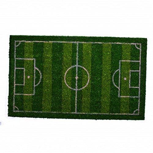 LaVelaHOME Zerbino Campo di Calcio 45 x 75 Cocco Tappeto giuco Pallone