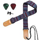 Ukulele Strap, IHOBOR Adjustable Hawaiian Egypt Style Ukelele Shoulder Strap, Suitable for Soprano Concert Tenor Baritone String Instruments