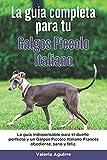 La Guía Completa Para Tu Galgos piccolo italiano: La guía indispensable para el dueño perfecto y un Galgos piccolo italiano obediente, sano y feliz.