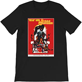 Disco Godfather Tucker-Williams-Sweetmeat-Noel Rudy-Ray Moore Movie Horror Funny Gift for Men Women Girls Unisex T-Shirt (Black-XL)