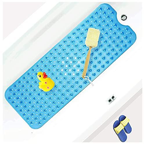 U/D Badewannenmatte,Antirutschmatte Badewanne mit Saugnapf,utschfest Badematte für Kinder Baby,Duschmatte rutschfest mit Saugnapf,Zu Hause Badewannenmatte rutschfest