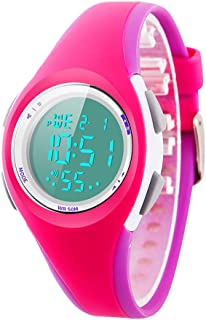 Kid Watch Sport LED Alarm Stopwatch Digital Child Quartz...