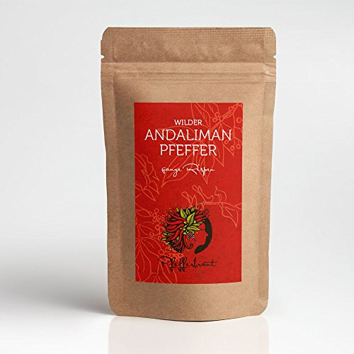 Andaliman Pfeffer aus Wildwuchs 20 g Zitronenpfeffer - spannend und exquisit - Gourmetpfeffer