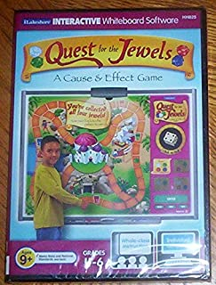Quest for the Jewels - a Cause and Effects Game for Grades 4 - 6, PC/MAC