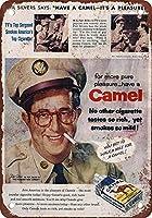 Camel Cigarettes ティンサイン ポスター ン サイン プレート ブリキ看板 ホーム バーために