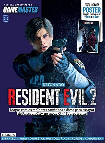 Superpôster Game Master - Detonado Resident Evil 2 (Leon)