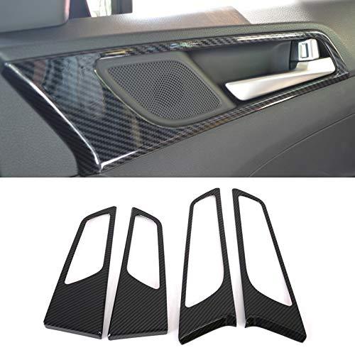 HIGH FLYING Interieur Dekor ABS Kunststoff Kohlefaserfarbe für Tucson 2016-2020 (Türgriff)