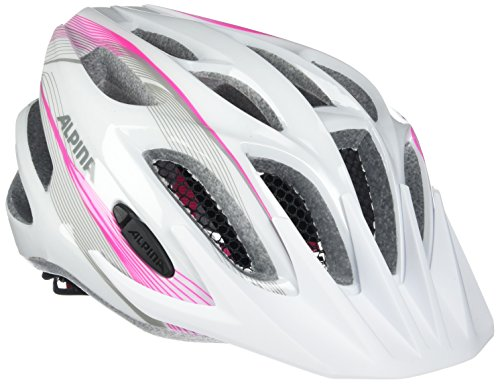 ALPINA FB jr. 2.0 Flash Fahrradhelm, Kinder, white-pink-silver, 50-55