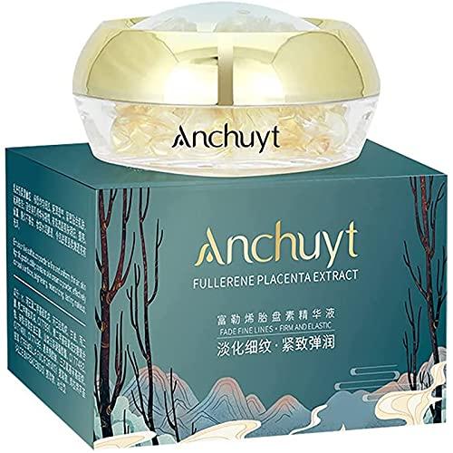 wgkgh Anti-Wrinkle whitening Cream, moisturizing And diminishing fine Lines Essence, fullerene Placenta Essence & Placenta Capsule Sheep Placenta Extract