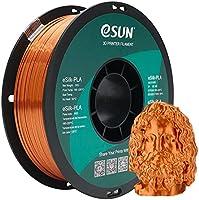 eSUN Silke PLA Glödtråd 1.75mm, Silkeslen Glänsande 3D-skrivarfilament PLA, Dimensionell Noggrannhet +/- 0.05mm, 1KG (2.2...