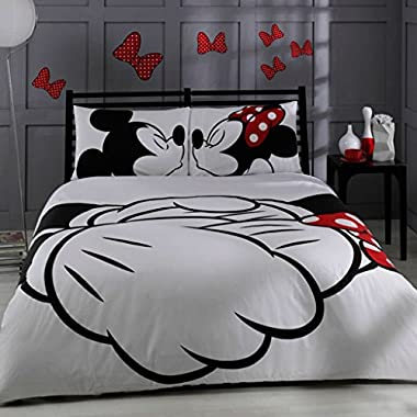 Licensed King Queen Adults Cartoon Bedding Set Cotton Bed Sheet Linens Doona Duvet Cover Sets (Queen)