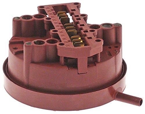 Hobart - Soporte para lavavajillas UX-30ES, UX-30ESB, UX-30E, UX-30EB, conector de 6 mm, 3 zonas de presión, conexión horizontal