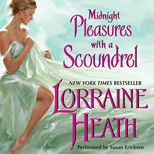 Midnight Pleasures with a Scoundrel cover art
