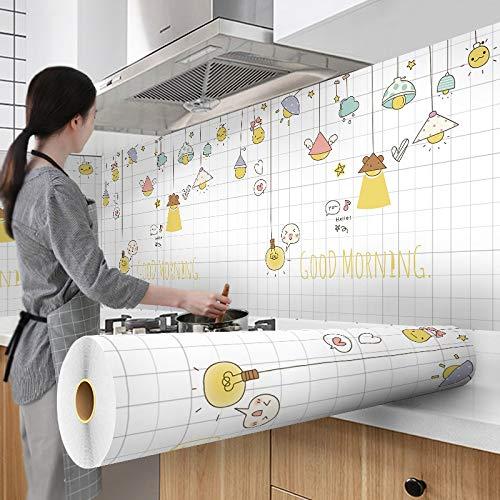 ZBXCVZH 300 cm Fondos de Pantalla Recubrimiento de Aluminio Impermeable Moderno Sala de Estar Muebles de Escritorio Vinilo Auto Adhesivo Contacto Papel Decoración para el hogar