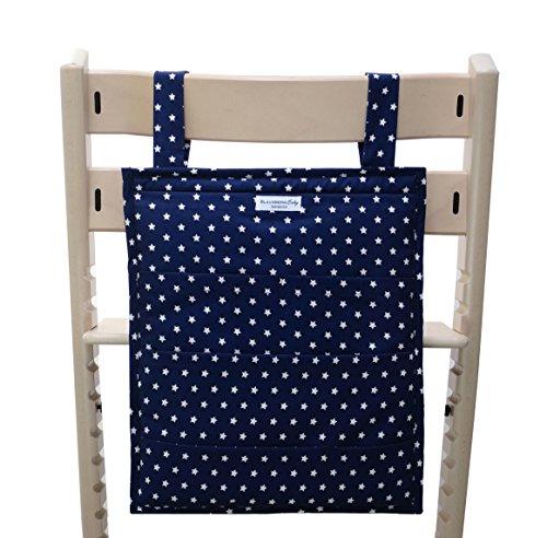 Blausberg Baby - Utensilo pour Stokke Tripp Trapp chaise haute - bleu Žtoile