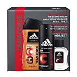 Adidas, Team Force, Men's 3 Piece Gift Set with Body Wash, Total Retail Value...