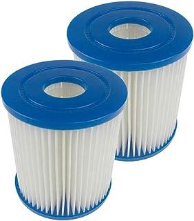 Sumshy Tipo I Cartuchos de Filtro para Piscina, filtros para Bomba de Piscina, Filtro SPA, Fácil instalación Filtro Efectivo para Limpieza de Piscinas Limpieza efectiva