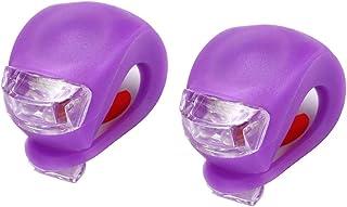 FLAMEER Accesorios de Advertencia del Reflector de la luz Trasera del Faro de la lámpara de la Vespa de la luz de la Bici