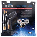 Harris HX-5B Inferno Air-Fuel Kit with Quick Connect Acetylene Hose Connections, HA-5i Inferno Brazing Tips and B Tank Connection (Pack of 1)