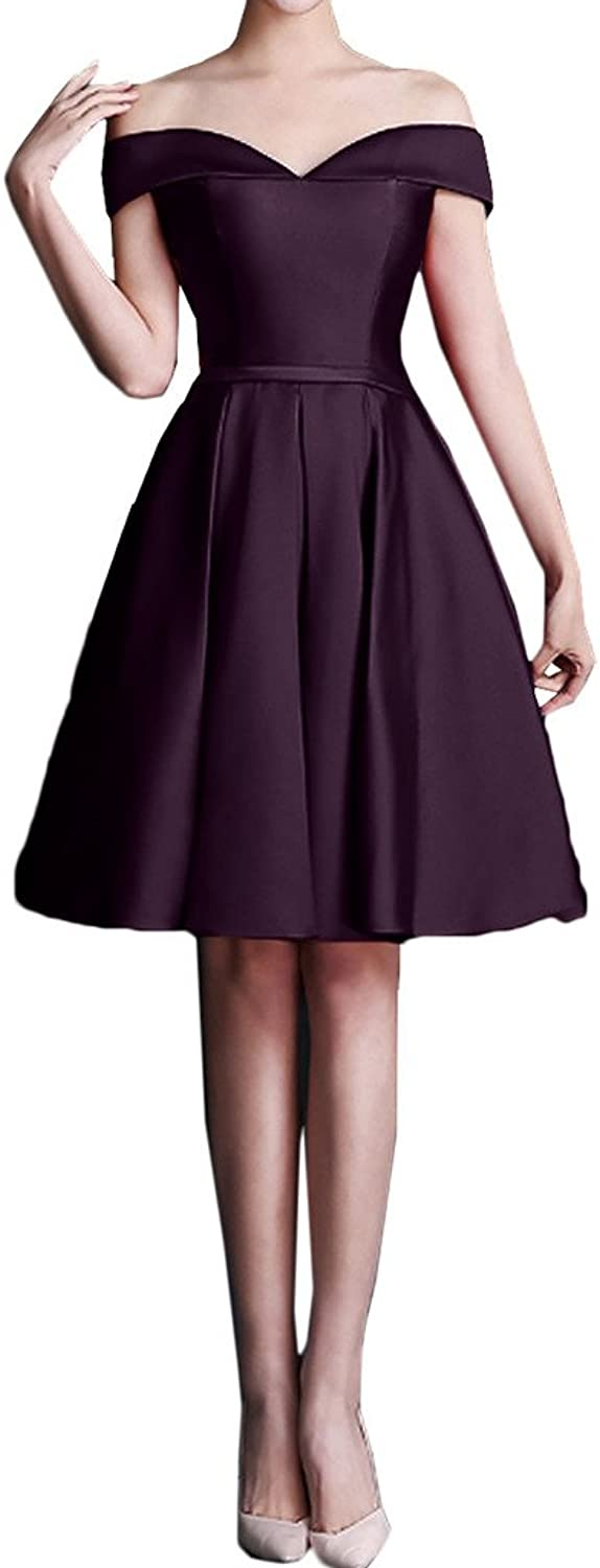 MILANO BRIDE Inexpensive OfftheShoulder Short Homecoming Dress Prom Party Gown
