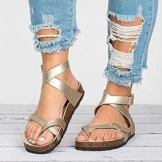 ZYXZ Factory Direct Sandals Women Summer Women Flat Sandals For Beach Clog Plus Size 43 Casual Flip Flop