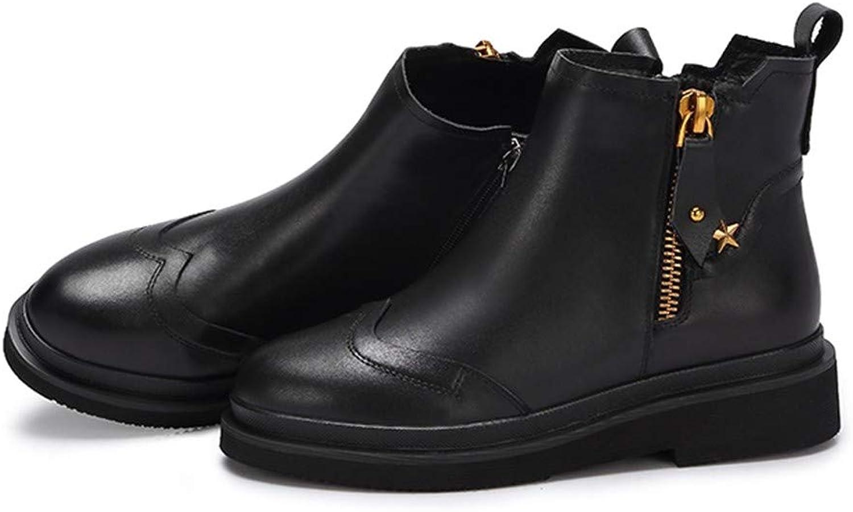 Cute girl Damenschuhe Einfach Mit Ankle Stiefel Für Frauen Reiverschluss Kurze U Frauen Stiefel Schwarz