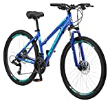 Schwinn GTX 2.0 Comfort Adult Hybrid Bike, Dual Sport Bicycle, 17-Inch Aluminum Frame, Blue