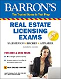 Image of Real Estate Licensing Exams with Online Digital Flashcards (Barron's Test Prep)
