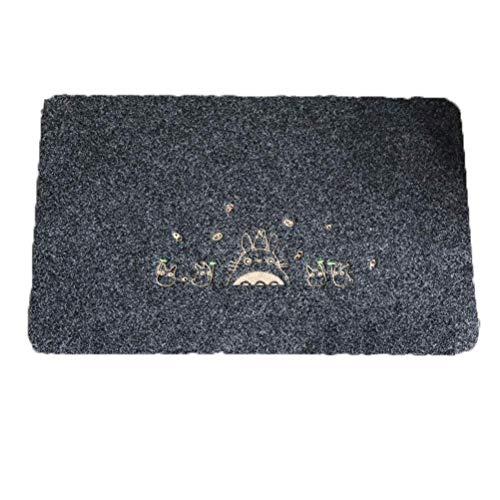 Baibao Fußmatte, für Wohnzimmer, Badezimmer, Schlafzimmer, Eingangsbereich, saugt Wasser, rutschfest, Matte (Größe: 60 x 90 cm) 60X90CM