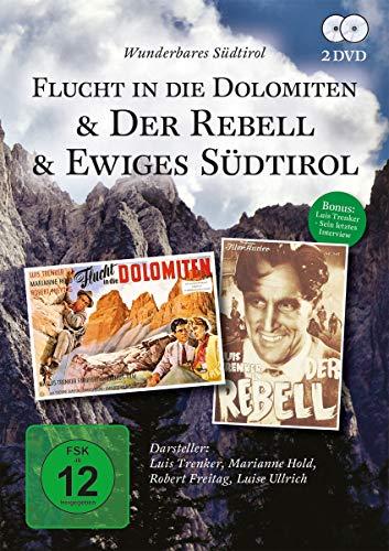 Luis Trenker-Wunderbares Südtirol (3 Filme) [2 DVDs]